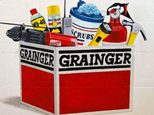 Grainger Products Mural